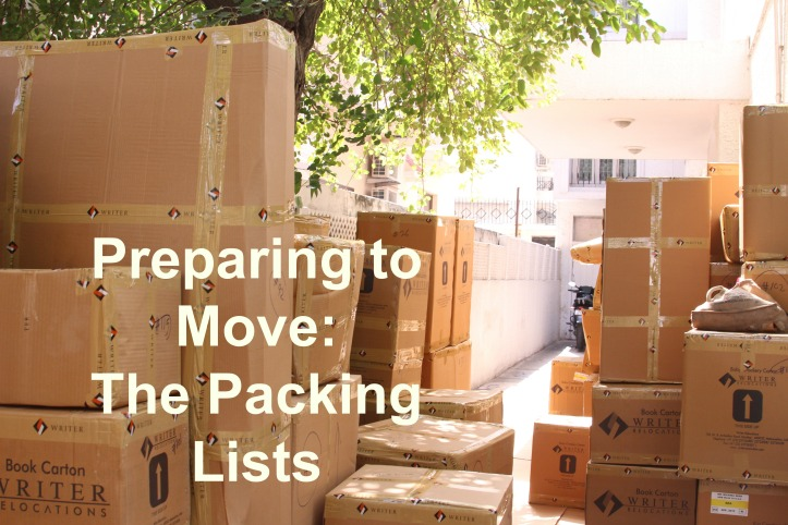 Moving is never easy, and moving overseas is even harder. Making a packing list can help! Read my thought process for sorting items into suitcases, air baggage, and sea baggage |www.carriereedtravels.com