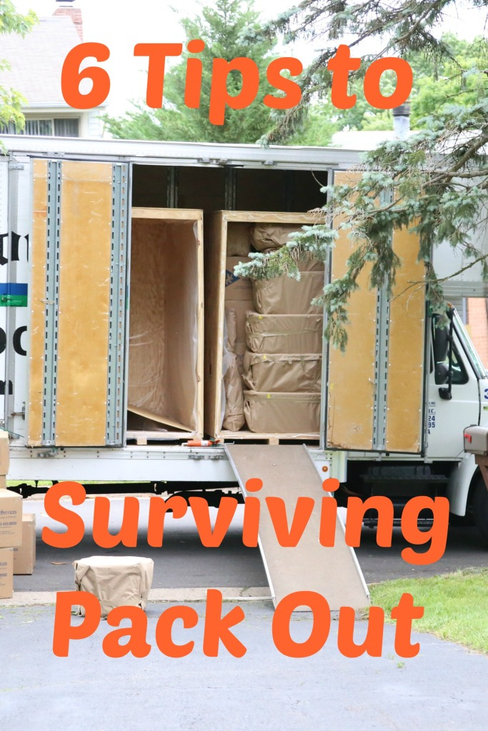 6 Tips for Surviving a Move or Packout | www.carriereedtravels.com