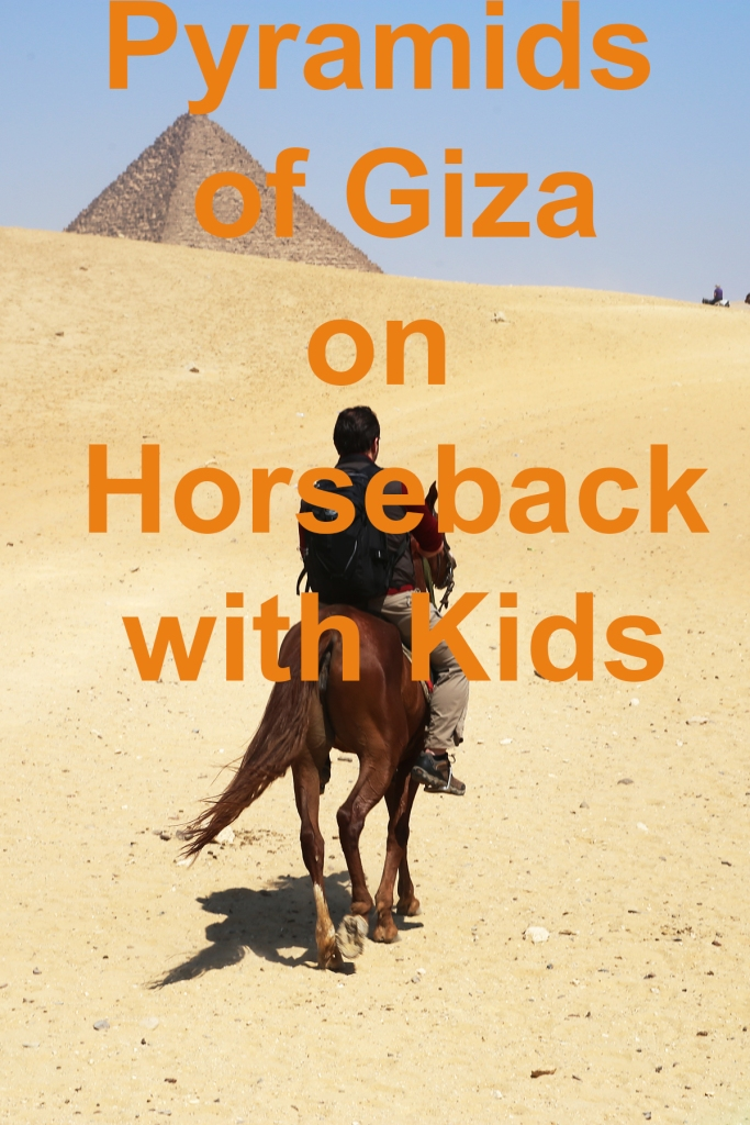 Pyramids of Giza on Horseback with Kids | www.carriereedtravels.com