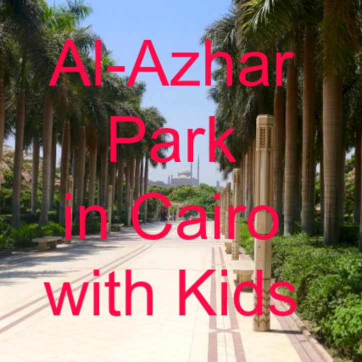 Al-Azhar Park in Cairo with Kids | www.carriereedtravels.com