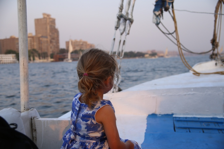 Sailing on the Nile in Felucca with Kids | www.carriereedtravels.com
