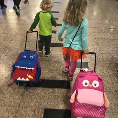 Surviving Short Flights with Toddlers