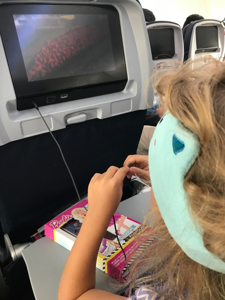 Guide to Surviving Long Haul Flights with Little Kids: Part 3-On the Plane | www.carriereedtravels.com