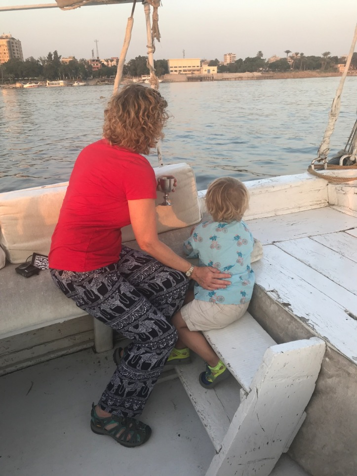 Sunset Felucca Sails on the Nile with Kids |www.carriereedtravels.com