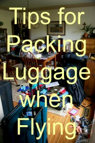 Packing Luggage