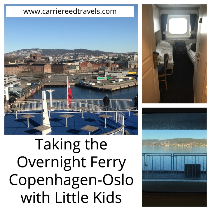 Taking the Overnight Ferry Copenhagen-Oslo with Little Kids