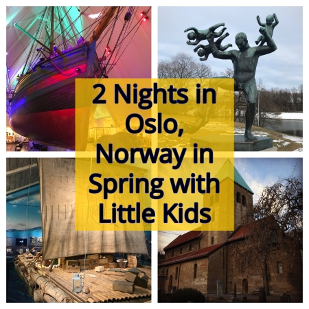 2 Nights in Oslo, Norway in Spring with Little Kids | www.carriereedtravels.com