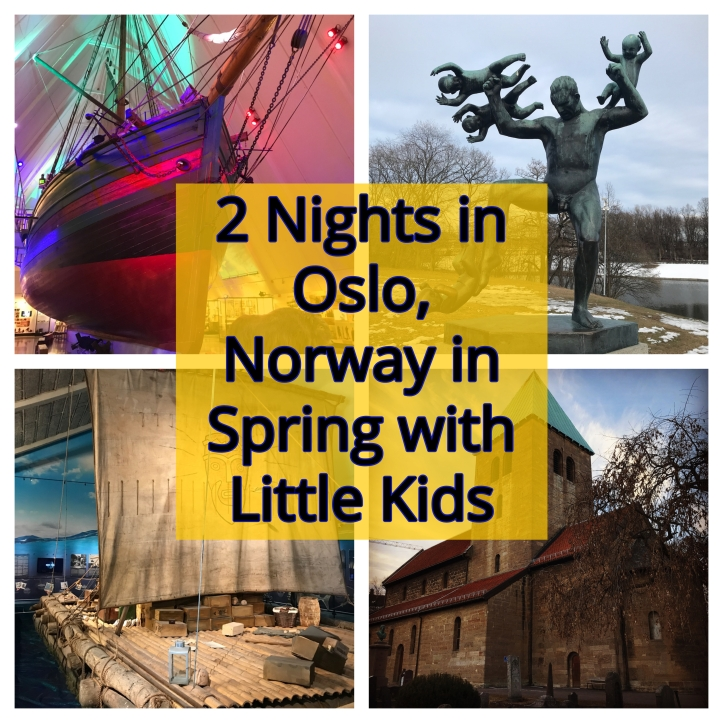 2 Nights in Oslo, Norway in Spring with Little Kids | www.carriereedphotos.com