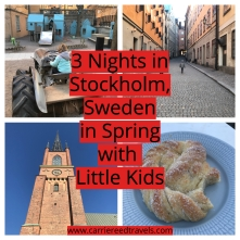 3 Nights in Stockholm, Sweden in Spring with Little Kids | www.carriereedtravels.com
