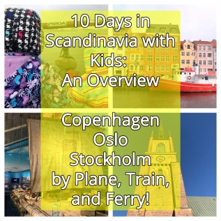 10 Days in Scandinavia with Kids: An Overview Covering Copenhagen, Oslo, and Stockholm by Plane, Train, and Ferry | www.carriereedtravels.com