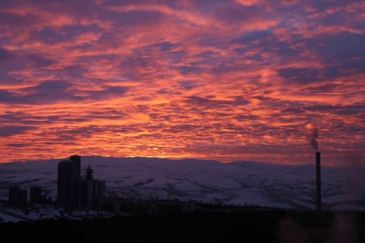Sunrise in Ankara | www.carriereedtravels.com