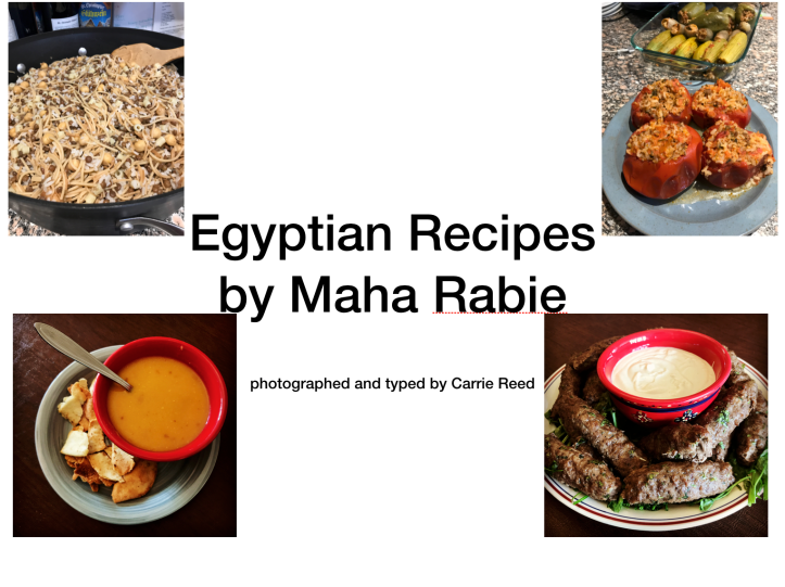 Egyptian Recipes with Photos | www.carriereedphotos.com