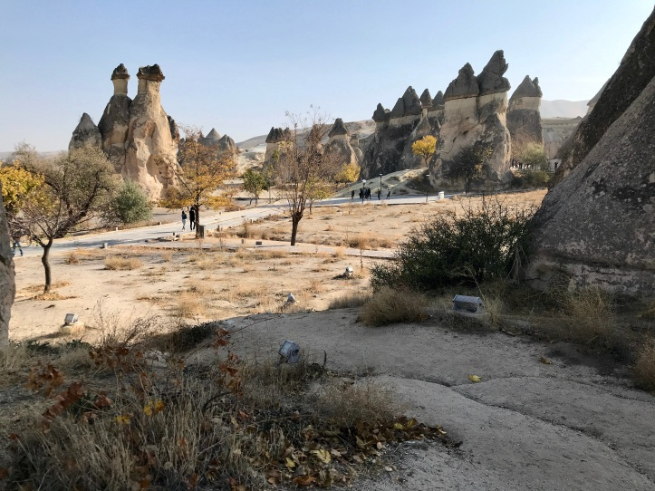 Guide to Göreme, Turkey and Cappadocia with Kids: Fairy Chimneys (Paşabağları Müze ve Örenyeri) | www.carriereedtravels.com
