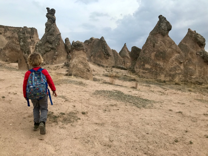 Guide to Göreme, Turkey and Cappadocia with Kids: Devrent and Downtown Göreme Day 1 | www.carriereedtravels.com