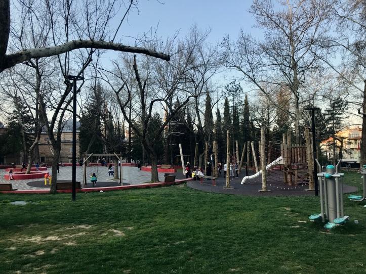 Bursa, Turkey-Muradiye Complex with Kids | www.carriereedtravels.com