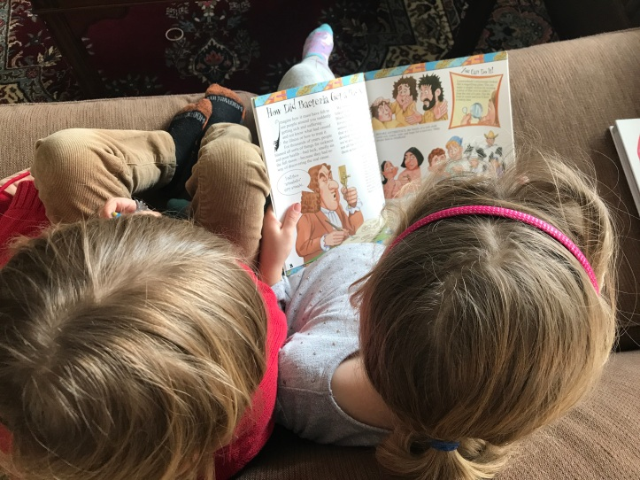 Homeschooling Preschoolers with Older Kids